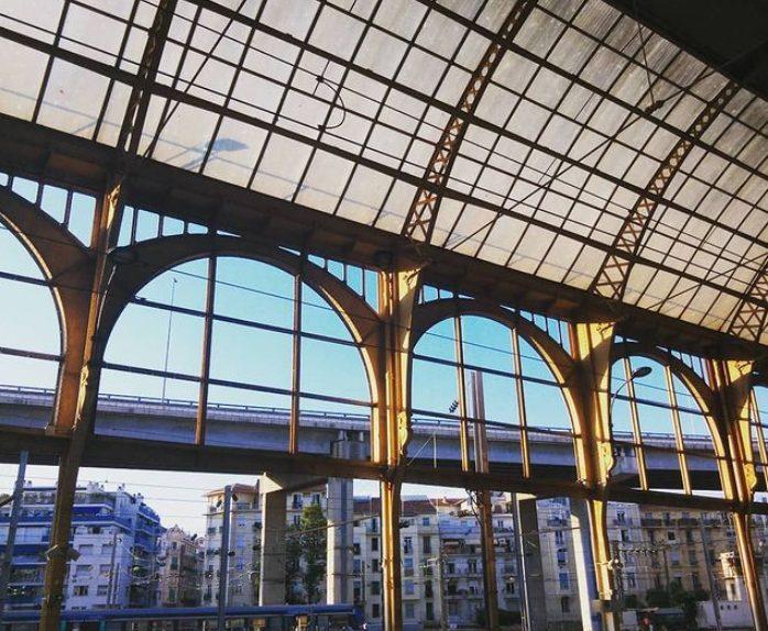 Nice Ville train station